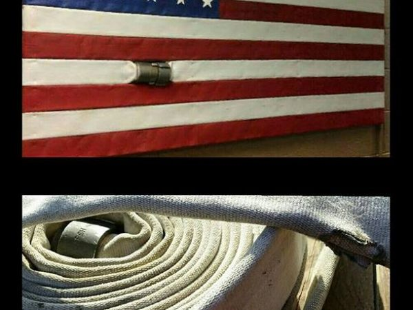 USA Fire Hose Flag