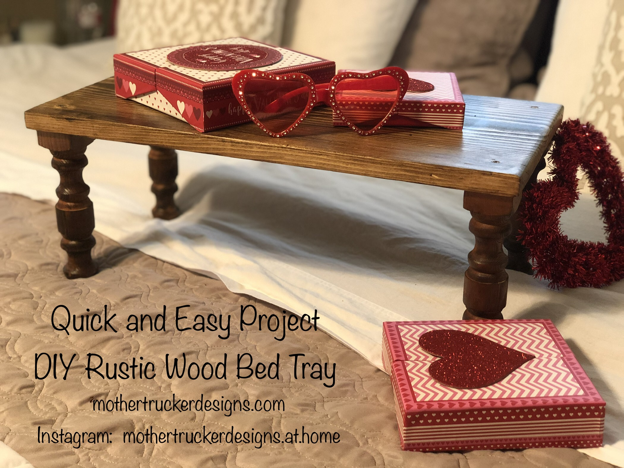 Quick Project – Bed Tray for the Grandkids