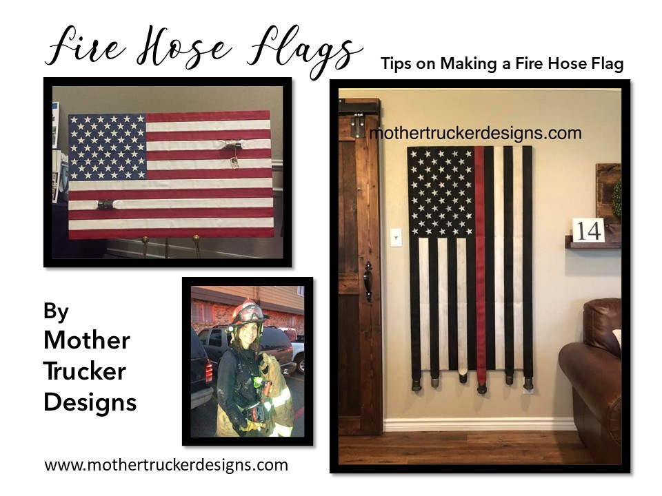 Top Tips for Making A Fire Hose Flag- Tip 2